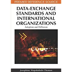 Data-Exchange Standards and International Organizations: Adoption and Diffusion