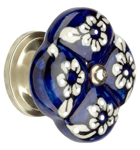 myoh KNB.830.40.46 Turkish Art Knob, Pottery Blue (Gothic Knobs compare prices)