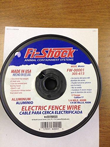 Fi-Shock FW-00001T 1/4 Mile, 17 Gauge Spool Aluminum