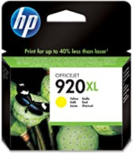 Comprar Hewlett Packard CD974AE#301 - Cartucho Inyeccion Tinta Amarillo 920Xl 700 Páginas Blister+Alarma Acústico/ Electromagnética/ Radiofrecuencia Officejet/6500/7500A