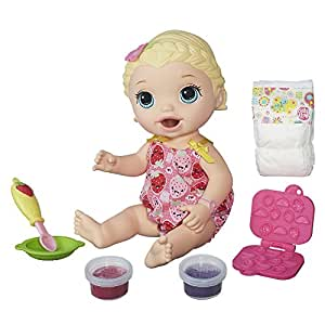 Baby Alive Baby Alive Snackin Lily, Blonde