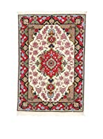 Eden Alfombra Tabriz Beige/Multicolor 60 x 90 cm