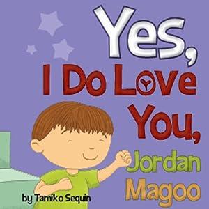 Yes, I Do Love You, Jordan Magoo | [Tamiko Sequin]