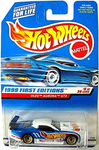 Hot Wheels 1999 First Edition #5: Olds Aurora GT3 - 1