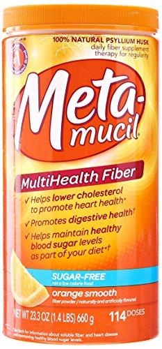 metamucil multihealth fibre d 39 orange lisser 114 doses 23 3 oz partir de vente. Black Bedroom Furniture Sets. Home Design Ideas
