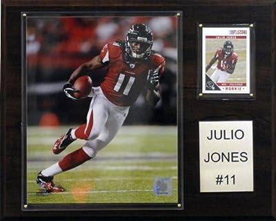 NFL Julio Jones Atlanta Falcons Player Plaque