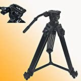 Fancierstudio Professional Heavy Duty Video Camcorder Tripod Fluid Drag Head Kits FC270A