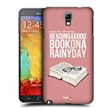 Head Case Designs Good Book Enjoy The Little Things Protective Snap-on Hard Back Case Cover for Samsung Galaxy Note 3 Neo N7505