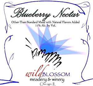 NV Wild Blossom Meadery & Winery Blueberry Nectar Mead 750 mL