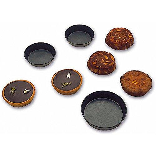 Matfer Bourgeat Steel Exopan Non-stick Tart / Cake Pan, 3