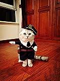 【ディザー】 DEZAR ハロウィン 猫 犬 制服 警察 警官 ペット用 ポリス コスチューム 衣装 仮装 (4号)