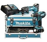 Makita Akku-Set 18 V DDF456RHE und DTM50Z