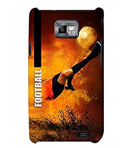 PRINTSWAG FOOTBAL Designer Back Cover Case for SAMSUNG GALAXAY S2