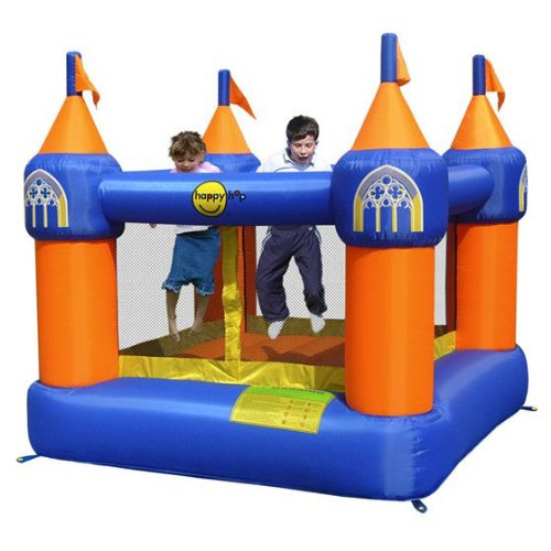 Duplay Happy Hop Inflatable Castle Bouncer with 240v Air Blower