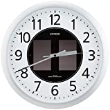 CITIZEN ( シチズン ) 電波 ソーラー掛 時計 エコモードM818 4MY818-019 4MY818-019