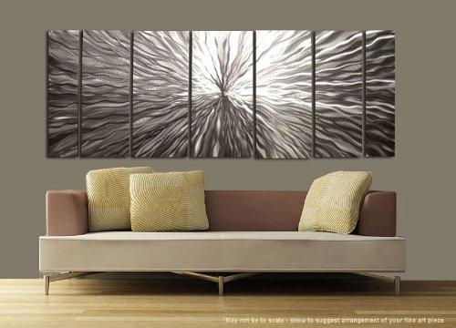 """""""Vortex"""" Modern Wall Decor Ultra Modern Abstract Metal Art by: Jon Allen"""