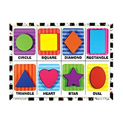 [Best price] Puzzles - Melissa & Doug Shapes - Chunky Puzzle - toys-games