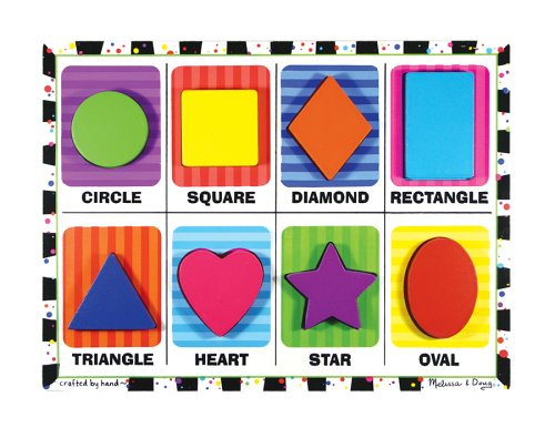 Melissa & Doug Shapes - Chunky Puzzle