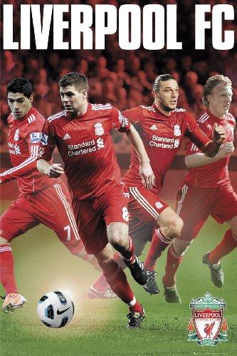 Liverpool FC LFC Stars 11/12 Maxi Poster 61x91.5cm