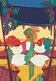 Buy Enlarge 0-587-00768-0P12x18 Afghanistan - The Bazaar Fruit-Seller- Paper Size P12x18
