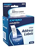 DYMO Address Labels for LabelWriters, White, 1-1/8