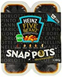 Heinz Five Beanz Snap Pots 200 g (Pack of 6)
