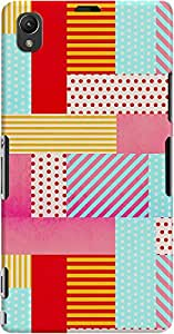 xperia z1 back case cover ,Geometric Pop Designer xperia z1 hard back case cover. Slim light weight polycarbonate case with [ 3 Years WARRANTY ] Protects from scratch and Bumps & Drops.