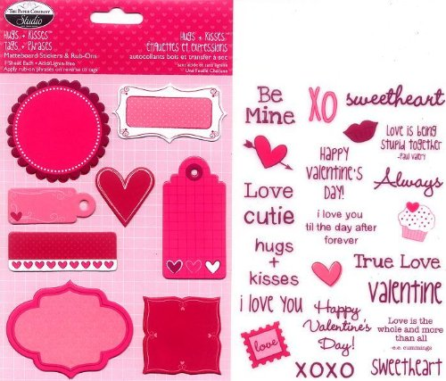 Hugs + Kisses Tags & Phrases