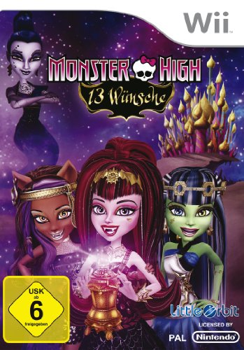 Monster High - 13 Wünsche [Software Pyramide] - [Nintendo Wii], Nintendo Wii