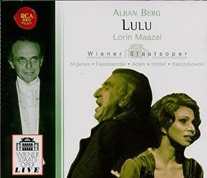 Alban Berg: Lulu (Opern-Gesamtaufnahme) (Fassung mit dem von Friedrich Cerha rekonstruierten 3. Akt) (3 CD)