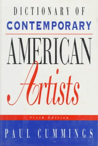 Dictionary of Contemporary American Artists-Ex-Library