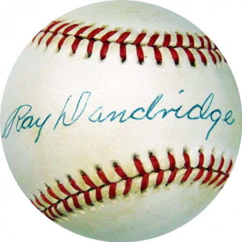 Ray Dandridge Autographed JSA Baseball