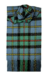 Lochcarron Ancient MacLeod of Harris Tartan Lambswool Scarf