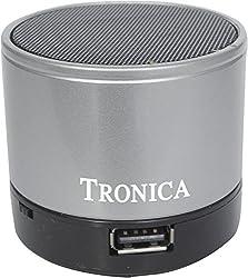 Tronica Sumo Bluetooth Speaker-Silver