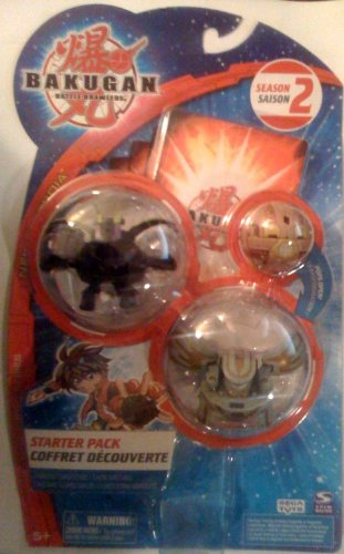 BAKUGAN Battle Brawlers Starter Pack New Vestroia Season 2 B