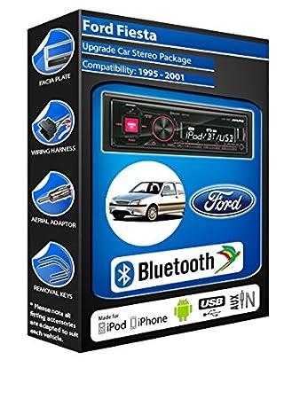 Ford Fiesta autoradio Alpine UTE 72BT-kit mains libres Bluetooth pour autoradio stéréo