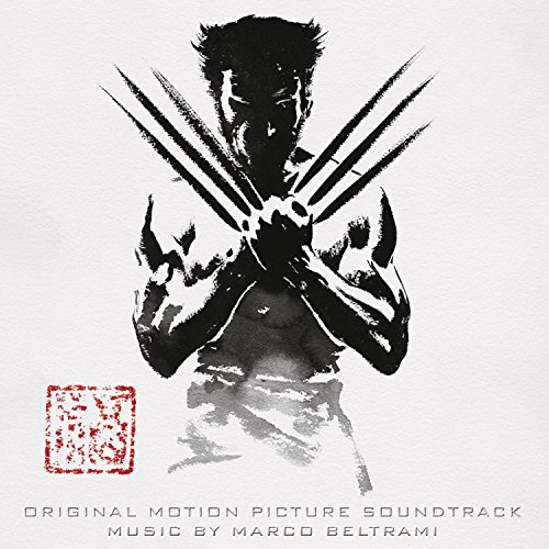 Original album cover of The Wolverine by Marco Beltrami