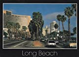 Modern Picture Postcards - (USA - CA - Long Beach) Ocean Blvd. Downtown Long Beach Modern Picture Postcard (LA-007A)