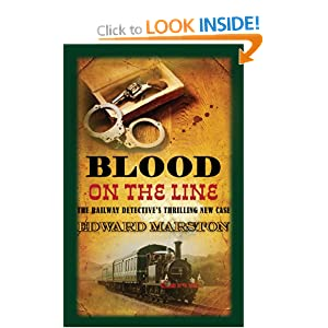 Blood on the Line - Edward Marston