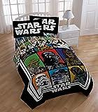 Star Wars Twin / Full Reversible Comforter - Feat. Darth Vader, Boba Fett, Chewbacca & More