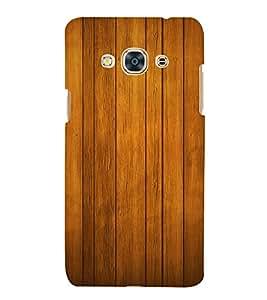 Beautiful Wood Design Cute Fashion 3D Hard Polycarbonate Designer Back Case Cover for Samsung Galaxy J3 Pro 2016