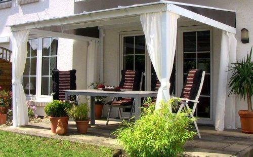 Terrassenüberdachung mit Doppelstegplatten