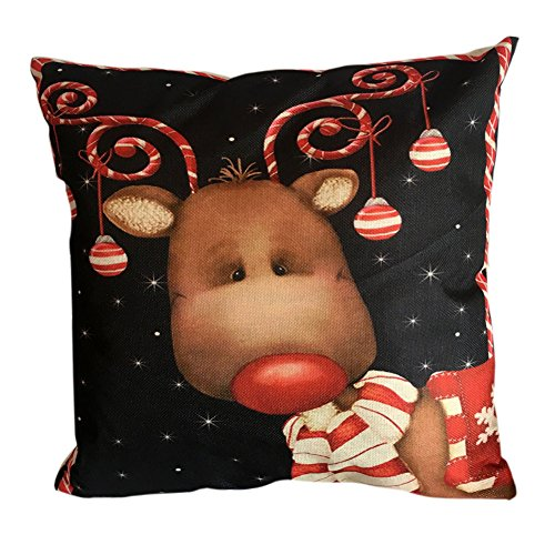bluester-christmas-linen-square-throw-pillow-case-decorative-cushion-pillow-cover-1818-k