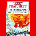The Fifth Elephant: Discworld #24 Audiobook by Terry Pratchett Narrated by Stephen Briggs
