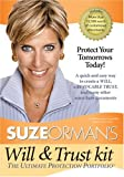 Suze Orman Will & Trust Kit