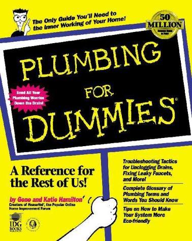 Plumbing for Dummies (For Dummies (Home & Garden))