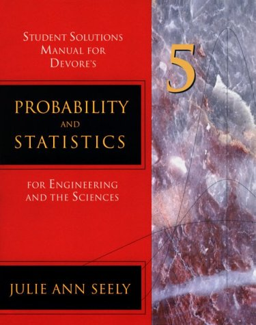 Probability and Statistics for Engineering and Science, Devore,Jay L.nn
