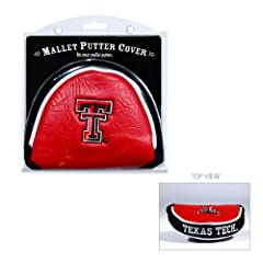 Brand New Texas Tech Red Raiders NCAA Putter Cover - Mallet by Things for You