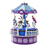 Disney Frozen Mini Carousel - Wind-up version (4 1/2 tall)