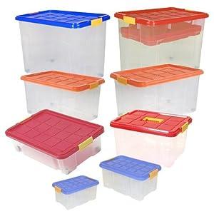 Universalbox Allzweckbox Aufbewahrungsbox Spielzeugbox Unibox Universalkisten, Größe4x 55l (60x40x34cm)    Kritiken und weitere Infos